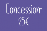 Concession  Membership (+65 y/o – students)